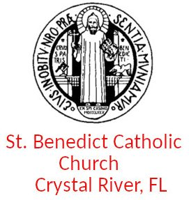 Logo for St. Benedict Catholic Church